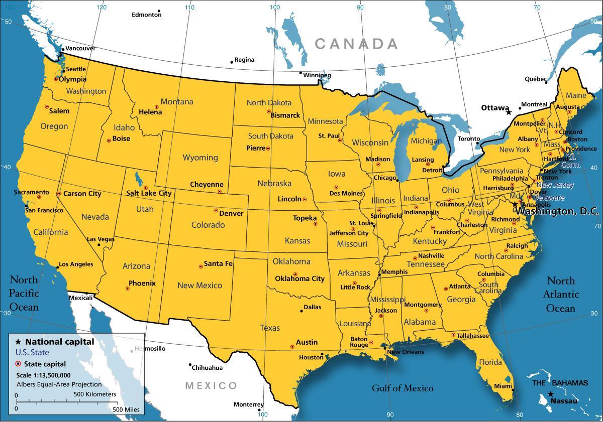 Chicago Mapa Usa Chicago Usa Mapa Spojené Státy Americké - Mapa de usa